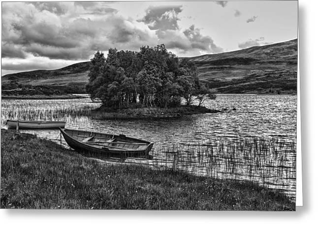 Smoothness Greeting Cards - Natures Hideaway in Scotland Greeting Card by Mountain Dreams