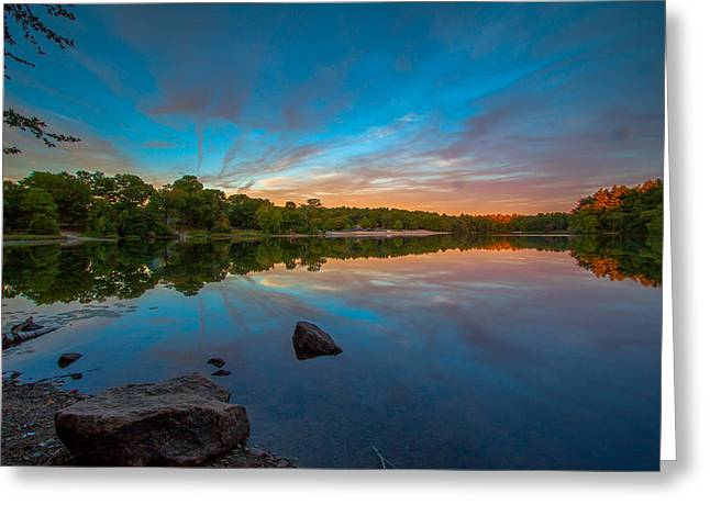 Boston Ma Greeting Cards - Natures Paintbrush Greeting Card by Brian MacLean