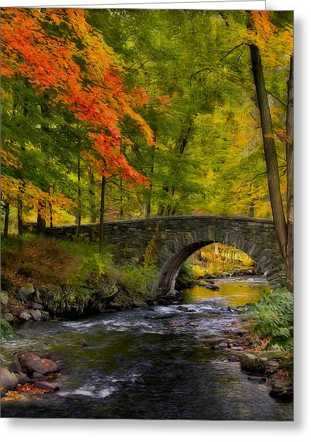 Autumn Greeting Cards - Natures Way Greeting Card by Susan Candelario