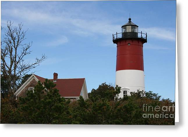 Christiane Schulze Greeting Cards - Nauset Beach Light Greeting Card by Christiane Schulze Art And Photography