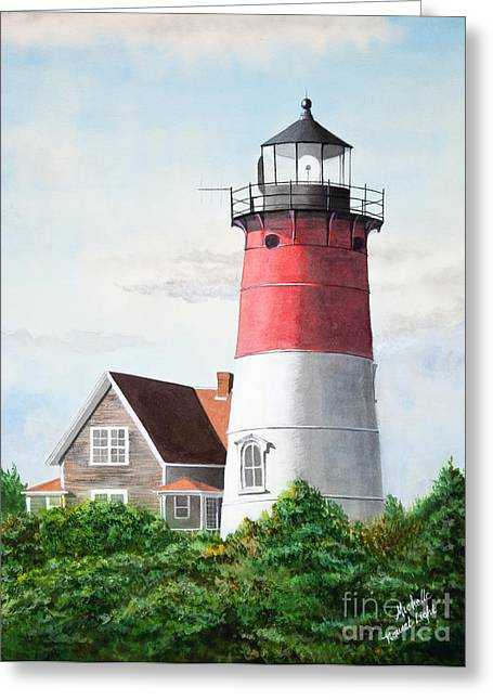 Michelle Greeting Cards - Nauset Beach Memories Watercolor Painting Greeting Card by Michelle Wiarda