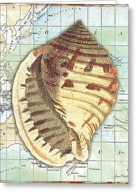 Convention Digital Art Greeting Cards - Nautical Journey-C Greeting Card by Jean Plout