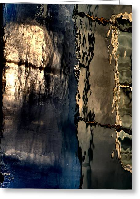 Many Greeting Cards - Nautical Reflection 1 Greeting Card by Newel Hunter