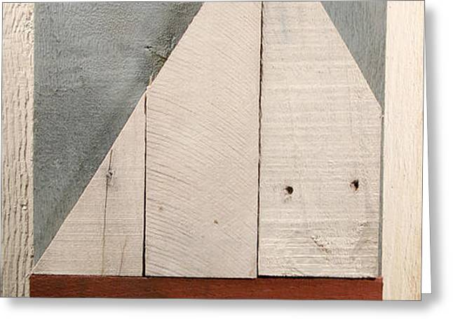 Nautical Wood Art 01 Greeting Card by John Turek