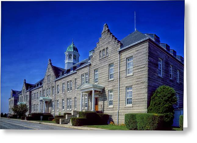 Cupola Greeting Cards - Naval War College - Newport Rhode Island Greeting Card by Mountain Dreams