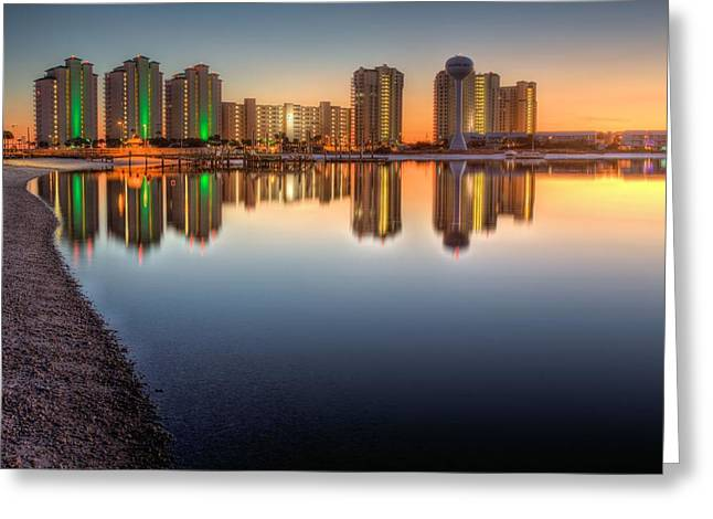 Navarre Beach Greeting Cards - Navarre Beach Greeting Card by JC Findley
