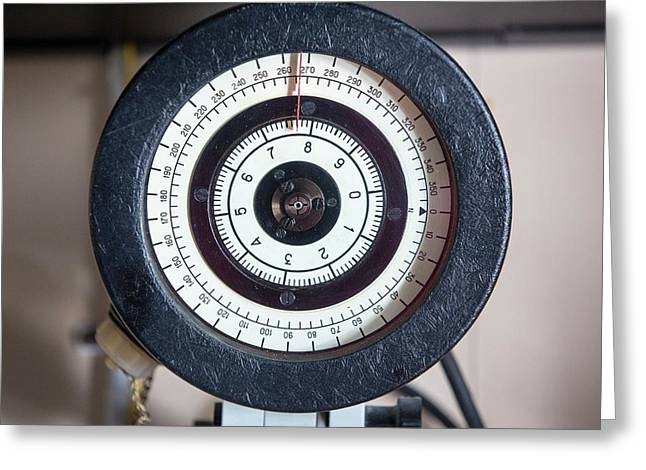 Navigational Equipment Greeting Card by Ashley Cooper