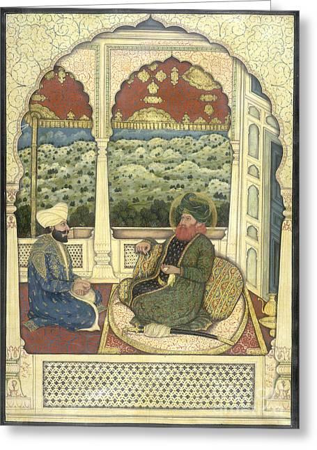 Bahawalpur Greeting Cards - Nawab Muhammad Bahawal Khan Greeting Card by British Library