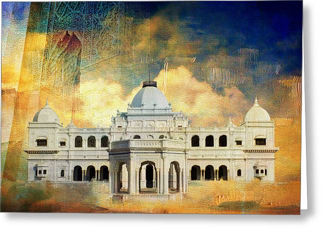 Allama Greeting Cards - Nawabs Palace Greeting Card by Catf