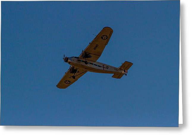 Ford Tri-motor Greeting Cards - Nc8407 Greeting Card by Thomas Sellberg