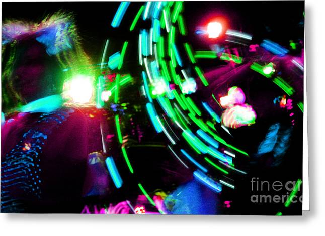 Dubstep Greeting Cards - Nce Nce Nce Greeting Card by Kyle Walker