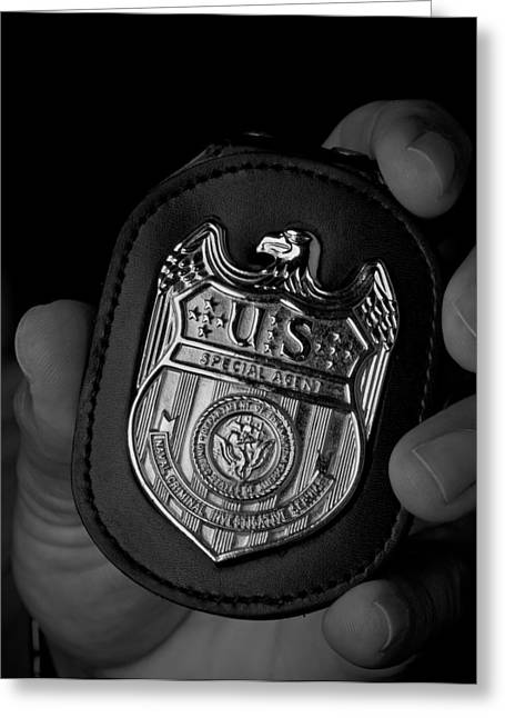 Law Enforcement Greeting Cards - Ncis Greeting Card by Mountain Dreams