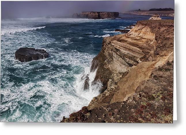Pacific Ocean Prints Digital Art Greeting Cards - Neap Tide Greeting Card by Kathleen Bishop