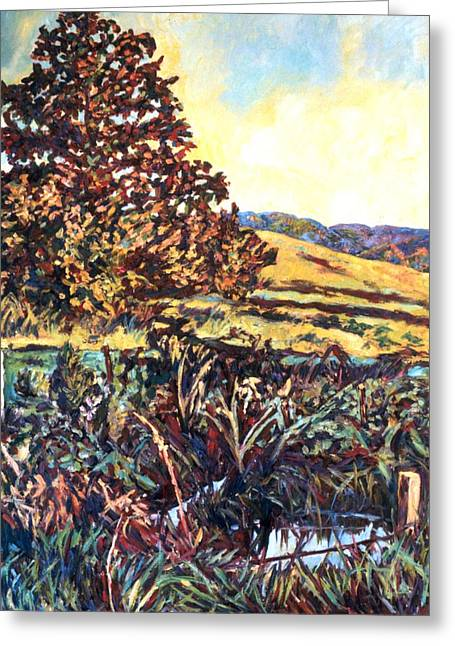 Near Childress Greeting Card by Kendall Kessler