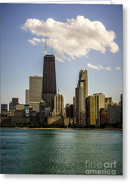 North Side Greeting Cards - Near North Side in Chicago Greeting Card by Paul Velgos