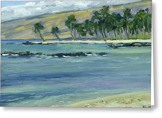 Lahaina Greeting Cards - Near the Ponds Greeting Card by Stacy Vosberg