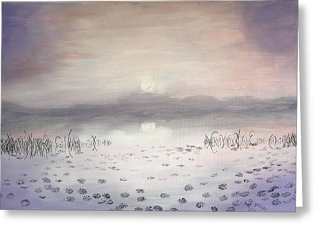 See Fog Greeting Cards - Nebel am See Greeting Card by Helmut Mayer