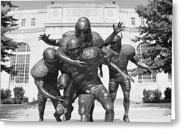 Nebraska Football Greeting Card by John Daly