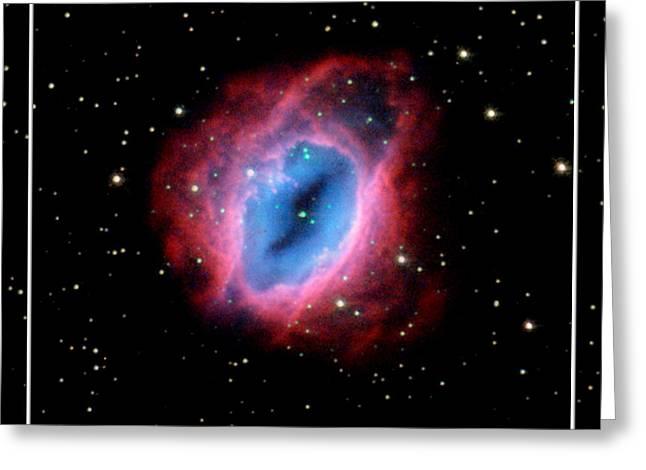 Nebula and Stars NASA Greeting Card by Rose Santuci-Sofranko