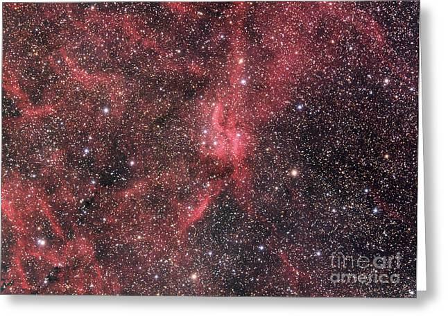Emission Nebula Greeting Cards - Nebula Greeting Card by Chris Cook