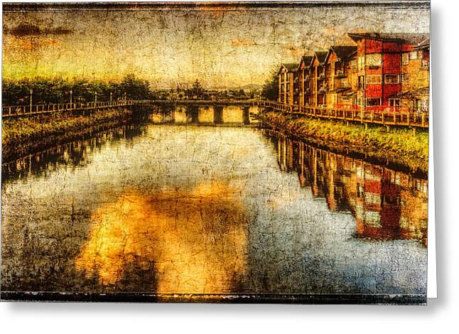 Recently Sold -  - Photo Art Gallery Greeting Cards - Necanium River Seaside Greeting Card by Thom Zehrfeld