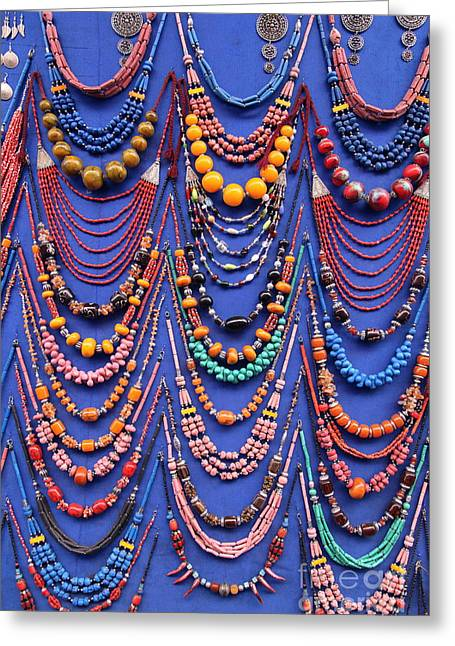 Handmade Necklace Greeting Cards - Necklaces Greeting Card by Sophie Vigneault