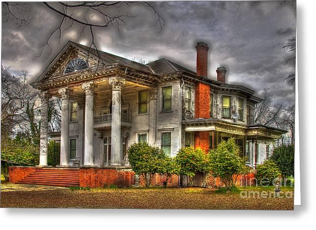 Historic Home Greeting Cards - Needs Repair Greeting Card by Reid Callaway