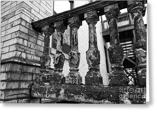 Old Porch Greeting Cards - Needs Some Work Greeting Card by John Rizzuto