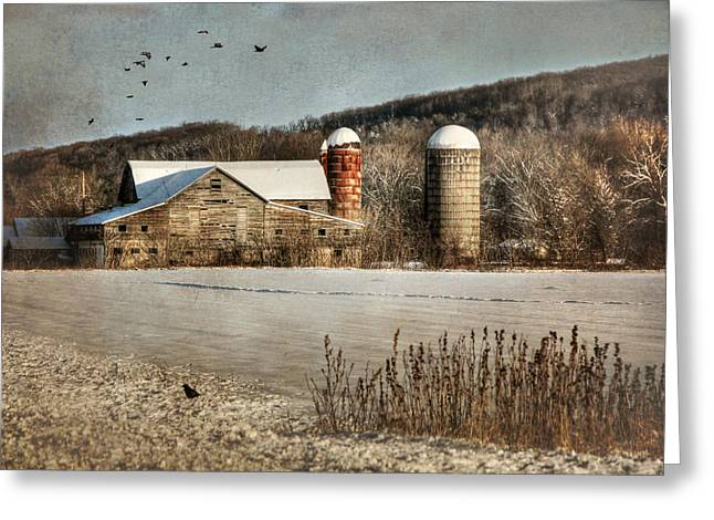 Dilapidated Greeting Cards - Neglected Greeting Card by Lori Deiter