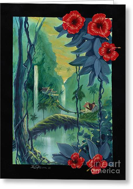 Storybook Greeting Cards - Neighbors Greeting Card by Bill Shelton
