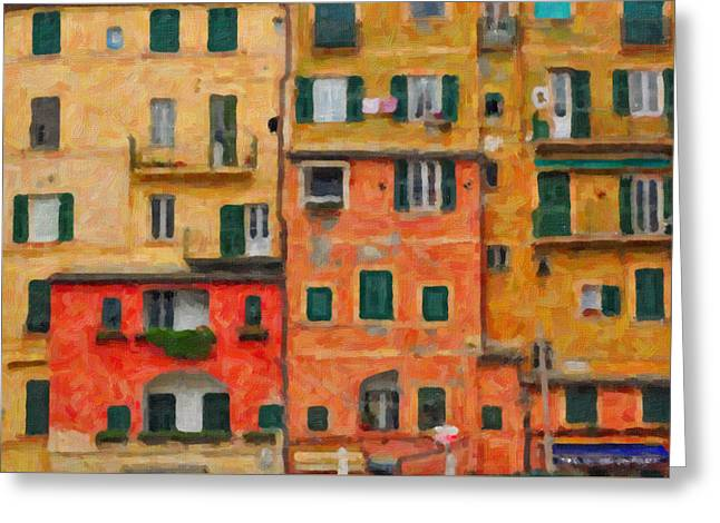 Vicini Greeting Cards - Neighbours Greeting Card by Alessandro Martinetti