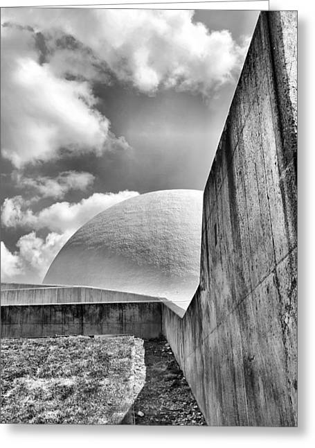 Sea Of Tranquility Greeting Cards - Neil Armstrong Museum Greeting Card by Dan Sproul