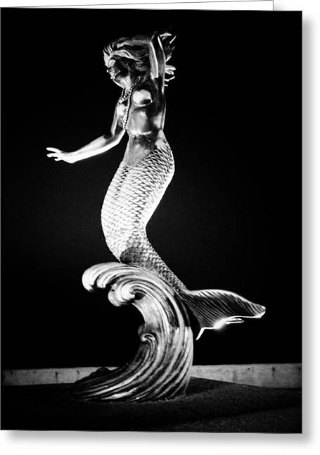 Greek Sculpture Greeting Cards - Nereid Gris Greeting Card by Natasha Marco