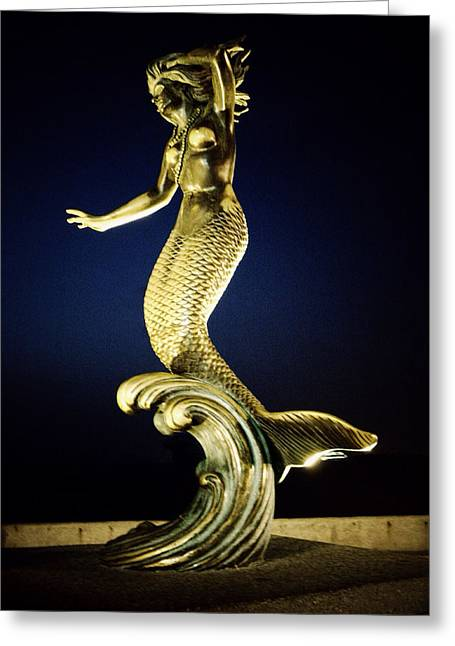 Greek Sculpture Greeting Cards - Nereid Greeting Card by Natasha Marco