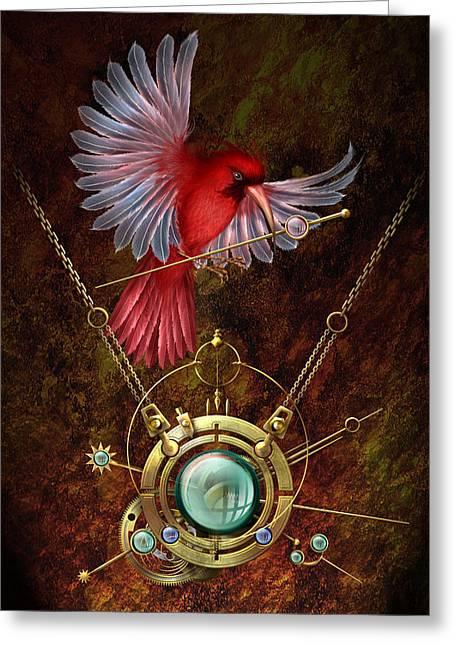 Nest Greeting Card by Ciro Marchetti