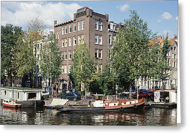 Diminishing Greeting Cards - Netherlands, Amsterdam, Intersecting Greeting Card by Panoramic Images