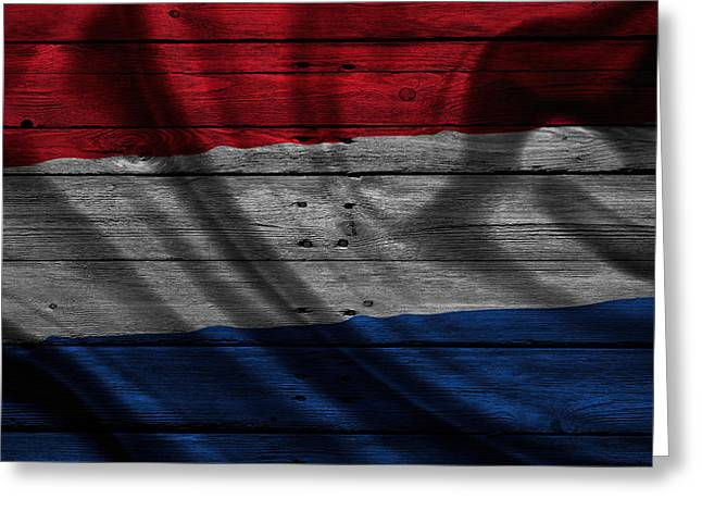 Continent Greeting Cards - Netherlands Greeting Card by Joe Hamilton
