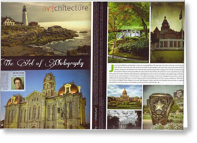 Article Greeting Cards - Network Magazine Article Greeting Card by Joan Carroll
