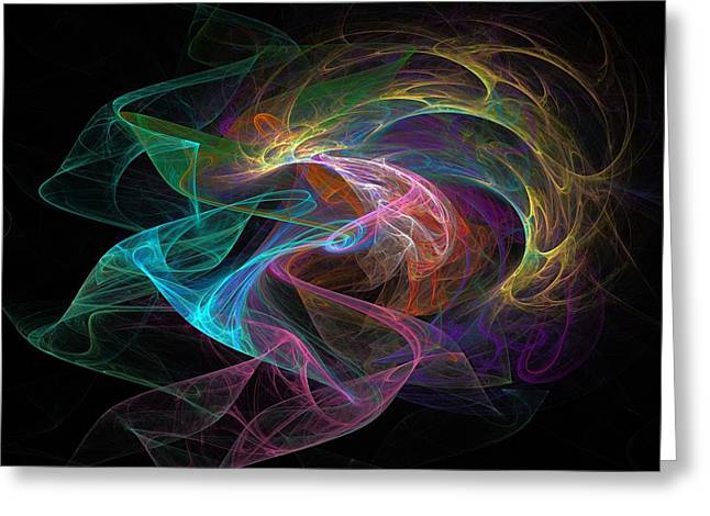 Transmit Messages Greeting Cards - Neural Transmission Greeting Card by Solomon Barroa