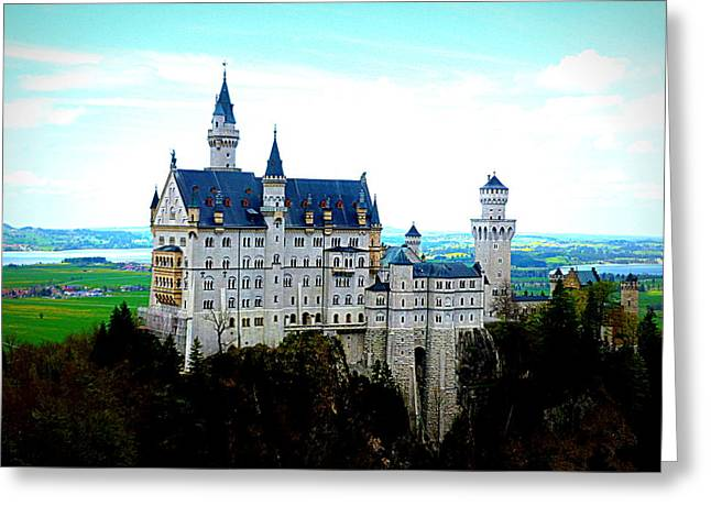 Neuschwanstein Castle  Greeting Card by The Creative Minds Art and Photography