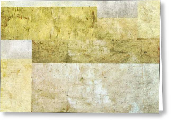 Neutral Colours Greeting Cards - Neutral Study No. 2 Greeting Card by Michelle Calkins