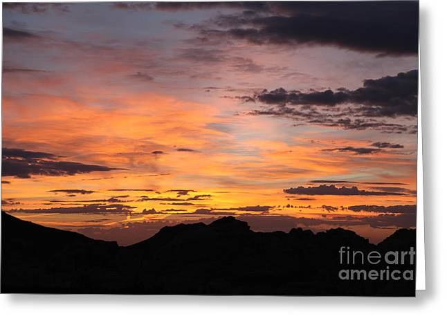 Nevada Sunrise Greeting Card by Trekkerimages Photography