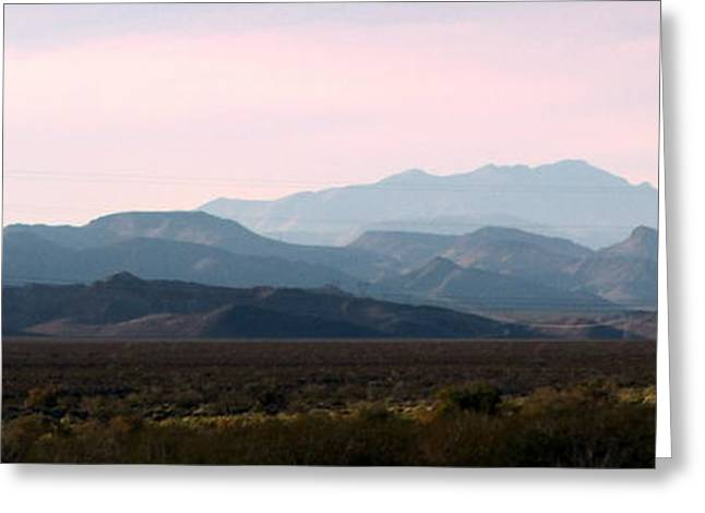 Kay Novy Greeting Cards - Nevada Sunset Greeting Card by Kay Novy