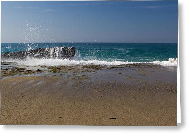 Ocean Art Photography Greeting Cards - Never A Dull Moment Greeting Card by Heidi Smith