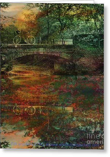 Book Cover Art Greeting Cards - Never Came Back Greeting Card by PainterArtist FIN