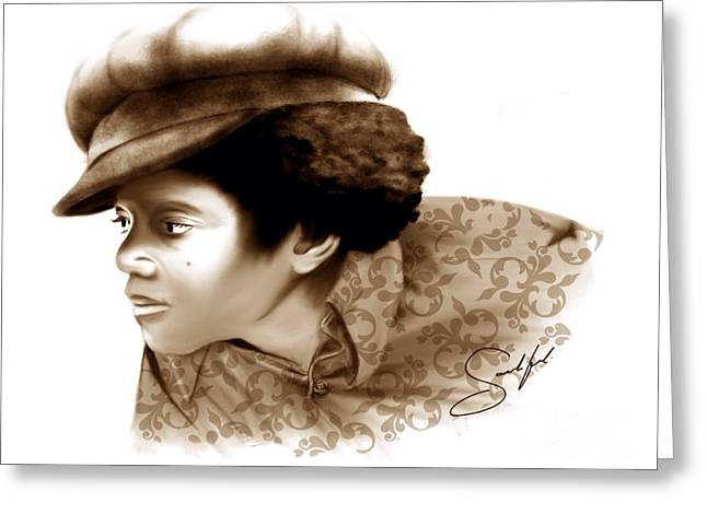 Mj Digital Greeting Cards - Never Can Say Goodbye Greeting Card by Rod Sandiford