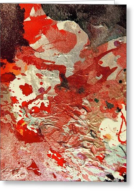Revolutionary War Mixed Media Greeting Cards - Never Ending War Greeting Card by James Welch