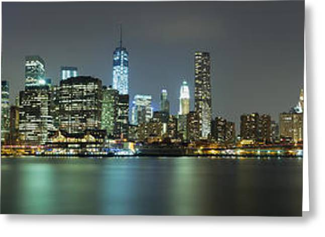 City Lights Greeting Cards - Never Forget Greeting Card by Rick Berk