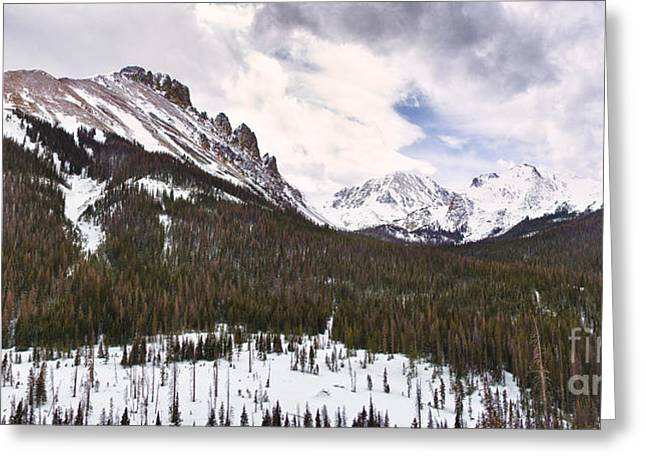 Nimbus Greeting Cards - Never Summer Wilderness Area Panorama Greeting Card by James BO  Insogna