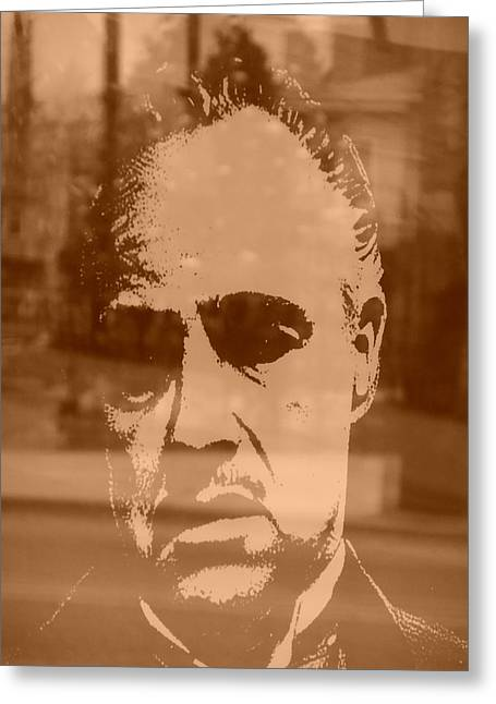 Marlon Brando Poster Greeting Cards - Neveragain Greeting Card by Don Teramano